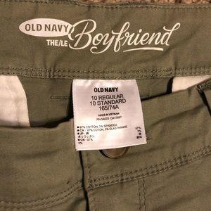 Old Navy Pants - Old navy sz 10 army green pants